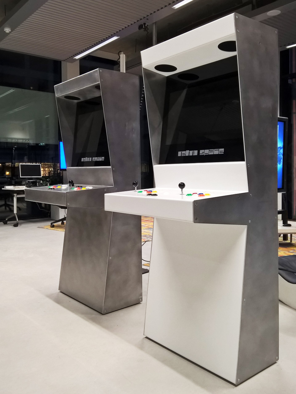 Retro Space Modern Arcade Cabinets From The Netherlands